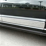 Dodge Caliber Upper Chrome Rocker Panel Set, 4pc  2007, 2008, 2009, 2010, 2011, 2012