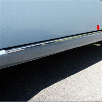 Ford Focus Chrome Rocker Panel Trim Set, 2pc  2008, 2009, 2010, 2011