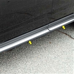Chevrolet Equinox Chrome Rocker Panel Trim, 2010, 2011, 2012, 2013, 2014, 2015, 2016, 2017