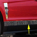 Cadillac SRX Rocker Panel Trim, 2010, 2011, 2012, 2013, 2014, 2015, 2016