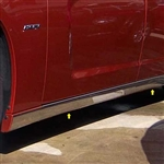 Dodge Charger Chrome Rocker Panel Trim, 2011, 2012, 2013, 2014