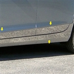 Cadillac XTS Chrome Rocker Panel Trim (lower and below door), 10pc. Set, 2013, 2014