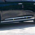 Cadillac XTS Chrome Rocker Panel Trim (below door) 2013, 2014, 2015