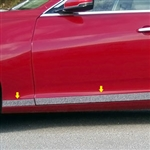 2014 Cadillac CTS Sedan Chrome Rocker Panel Trim (lower door), TH54250