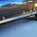 Chevrolet Colorado Chrome Rocker Panel Trim, 8pc 2015, 2016, 2017, 2018, 2019, 2020