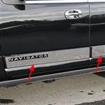 Ford Expedition 'Platinum' Chrome Side Molding Trim, 2015, 2016, 2017