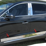 Lincoln Nautilus Chrome Rocker Panel Set, 2019, 2020