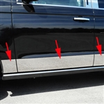 Ford Expedition Chrome Rocker Panel Trim, 2018, 2019, 2020