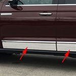 Lincoln Navigator Chrome Side Rocker Molding Trim, 2018, 2019, 2020
