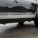Ford Ranger Chrome Rocker Panel Set, 2019, 2020