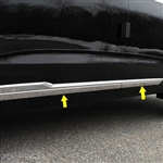 Cadillac XT6 Chrome Rocker Panel Set, 2020