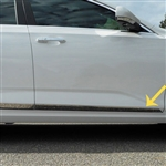 Cadillac CT4 Chrome Rocker Panel Set (on bottom door), 4pc 2020, 2021