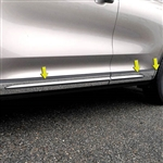 Lincoln Corsair Chrome Rocker Panel Set, 2020