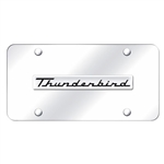 Chrome License Plate - Ford Thunderbird