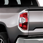 Toyota Tundra Chrome Tail Light Bezels, 2014, 2015