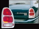 1998 with a 2003 Dodge Durango Aftermarket Chrome Tail Light Bezel Trim