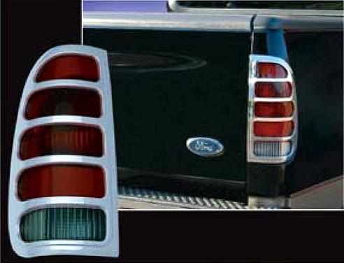 Ford Fleetside Chrome Tail Light Bezels