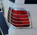 Lincoln Navigator Chrome Tail Light Bezels, 2003, 2004, 2005, 2006