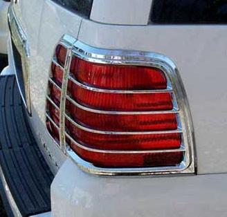 Lincoln Navigator Chrome Tail Light Bezels 2003 2004 2005 2006