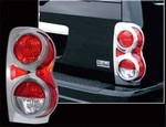 2004 with a 2009 Dodge Durango Aftermarket Chrome Tail Light Bezel Trim