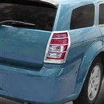 Dodge Magnum Chrome Tail Light Covers, 2005, 2006, 2007, 2008