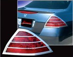 2006-2007 Honda Accord 4D Chrome Tail Light Bezels