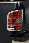 Chevrolet Silverado Chrome Tail Light Bezels, 2007, 2008, 2009, 2010, 2011, 2012, 2013