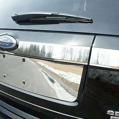 Ford Edge Chrome Trunk Accent Trim 3pc Set 2007 2008