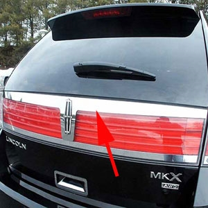 Lincoln Mkx Stainless Steel Trunk Accent Trim 2007 2008