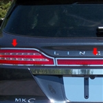 Lincoln MKC Chrome Tail Light Surround Trim, 2015, 2016, 2017, 2018, 2019
