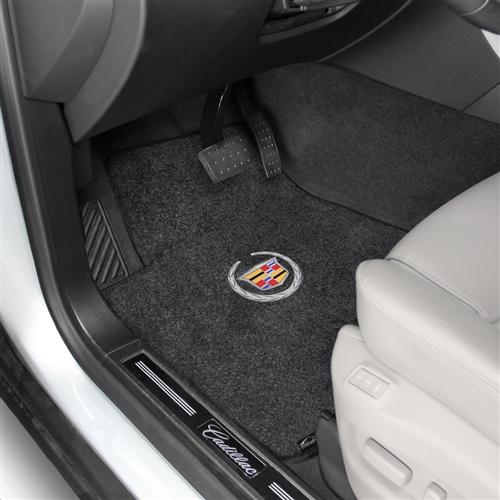 Connected Essentials CEM750 Car Mat Set Prestige Black with Black Trim