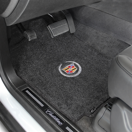 Connected Essentials CEB750 S4 2006-2008 Car Mat Set Black with Grey Trim Prestige Bootmat
