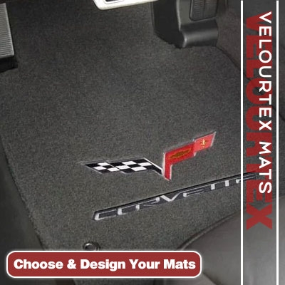 Velourtex Custom Auto Carpet Mats