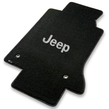 Jeep Wrangler Velourtex Custom Auto Carpet Mats
