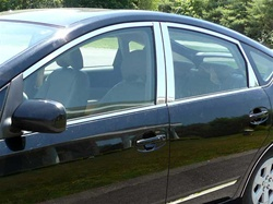 Toyota Prius Chrome Window Trim Package, 14pc. Set, 2004, 2005, 2006, 2007, 2008, 2009