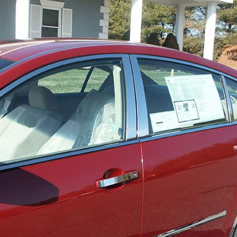 Nissan Maxima Chrome Window Trim Package 14pc Set 2004