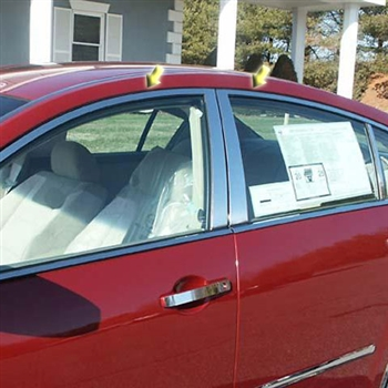 Nissan Maxima Window Trim Package (w/o pillar posts), 2004, 2005, 2006, 2007, 2008
