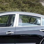 Nissan Altima Sedan Chrome Window Trim Package, 10pc. Set, 2007, 2008, 2009, 2010, 2011, 2012