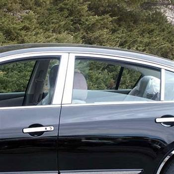 Nissan Altima Sedan Chrome Window Trim Package 10pc Set