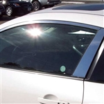 Nissan Altima Coupe Chrome Window Trim, 4pc. Set, 2008, 2009, 2010, 2011, 2012