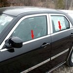 Chrysler 300 Chrome Window Sill Trim, 2005, 2006, 2007, 2008, 2009, 2010