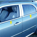 Dodge Magnum Chrome Window Trim, 2005, 2006, 2007, 2008