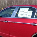 Ford Fusion Chrome Window Trim Package, 2006, 2007, 2008, 2009, 2010, 2011, 2012