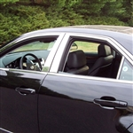 Cadillac CTS Chrome Window Trim Package, 10pc. Set, 2008, 2009, 2010, 2011, 2012, 2013