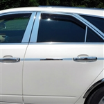 Cadillac CTS Sports Wagon Chrome Window Trim Package, 2010, 2011, 2012, 2013, 2014