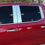 Chevrolet Silverado Chrome Window Trim, 2019, 2020