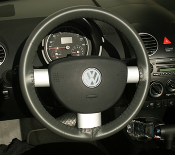 Wheelskins Genuine Leather Steering Wheel Cover for Ford Fusion