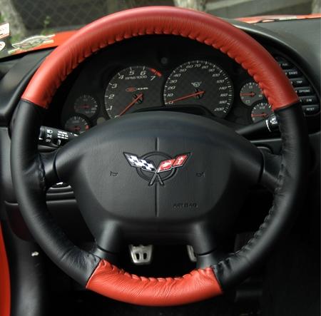 Wheelskins Genuine Leather Steering Wheel Cover for Ford Ranger