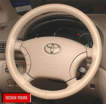 Single Tone Leather Steering Wheel Cover