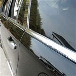 Ford Edge Chrome Window Sill Trim, 8pc. Set, 2007, 2008, 2009, 2010, 2011, 2012, 2013, 2014